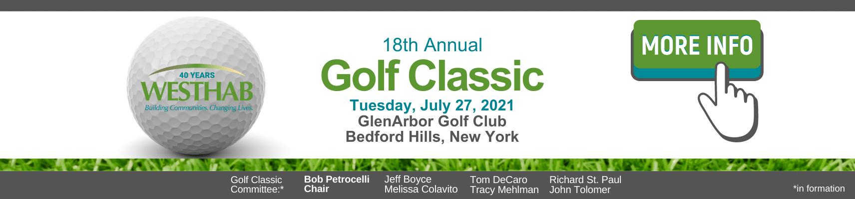 Golf Classic Banner