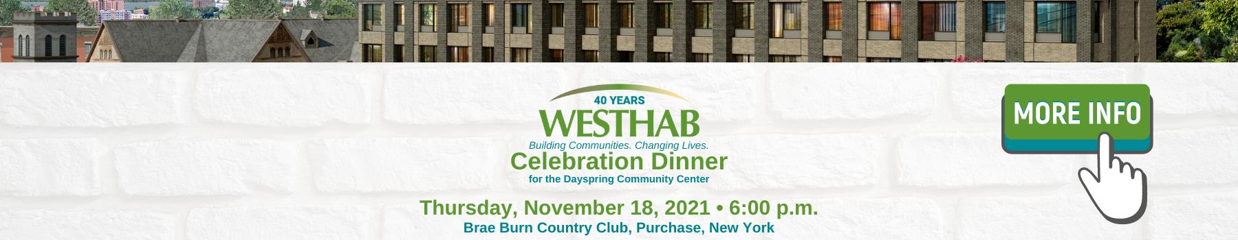 Celebration Dinner Banner