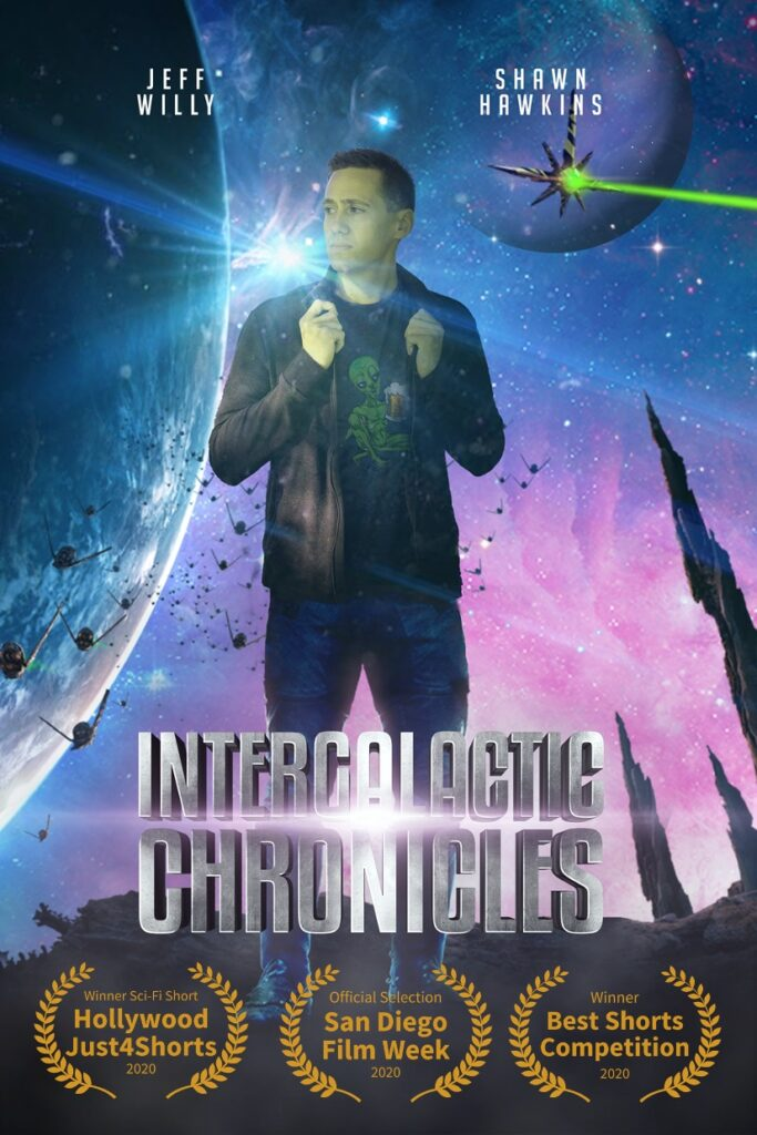 Intergalactic Chronicles, fourth wall entertainment, jeff willy