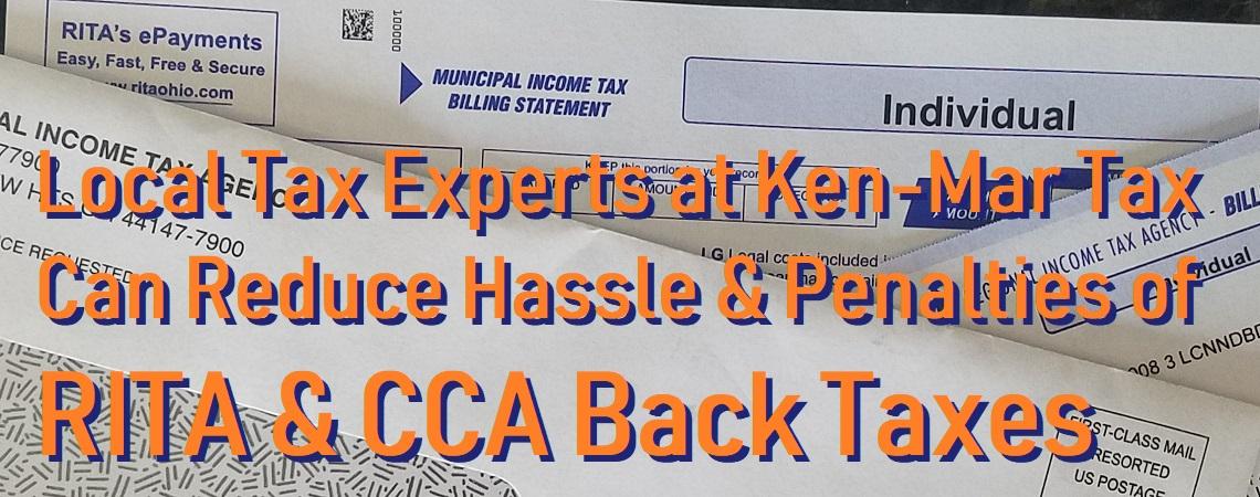 RITA Penalties CCA Cleveland Taxes
