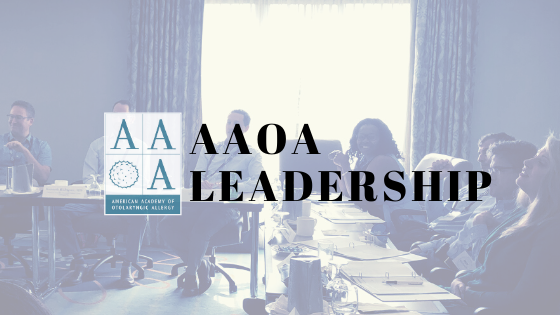 The Excitement Of The Recent AAOA Annual Meeting Is Still Upon Us…