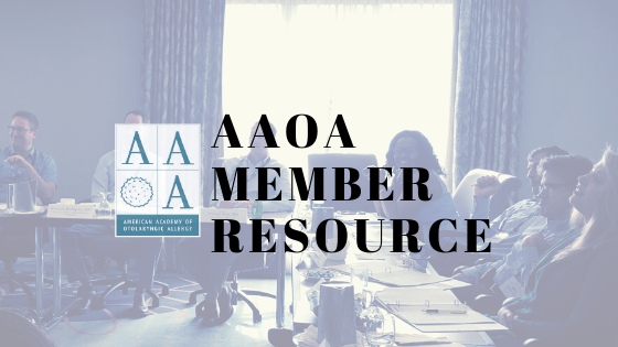 AAOA Member Resource