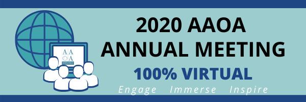2020 AAOA Annual Meeting Virtual
