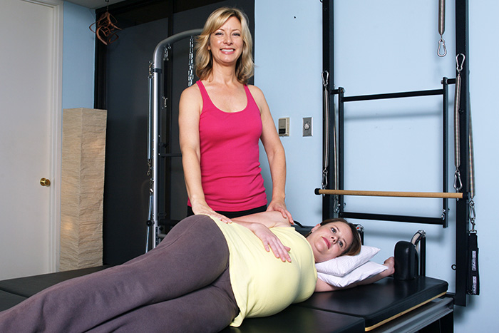 Pilates workout benefits for pregnancy, pre-natal, post-natal exercises for mothers