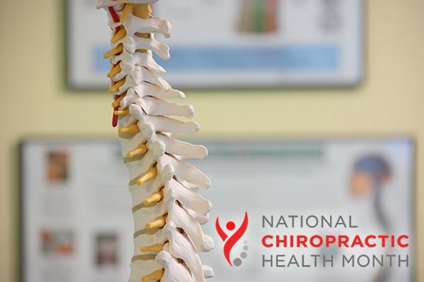 National Chiropractice Health Month image