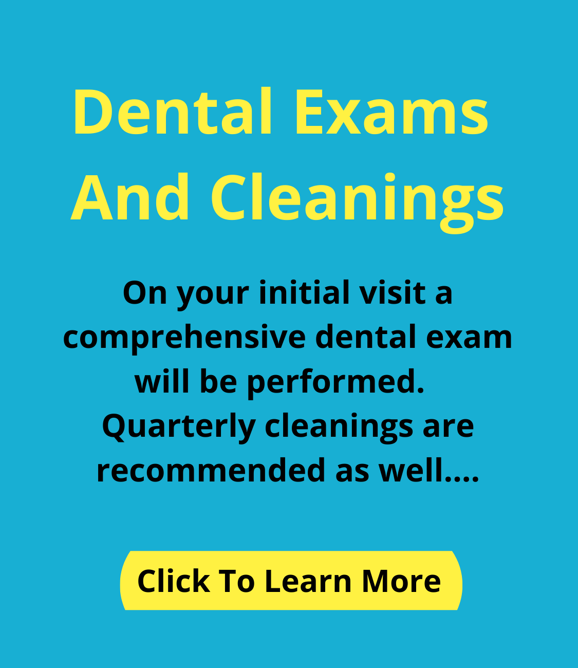 Dental Exams And Cleanings