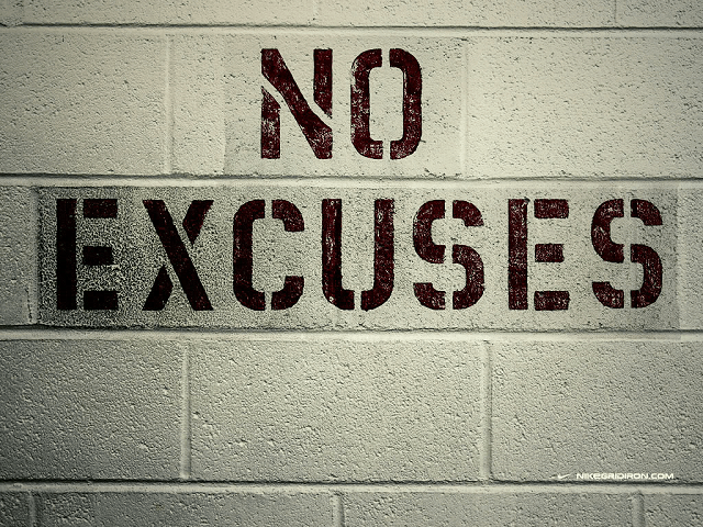 No Excuses Quotes – Our Top 10
