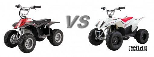 razor dirt quad vs dirt quad 500
