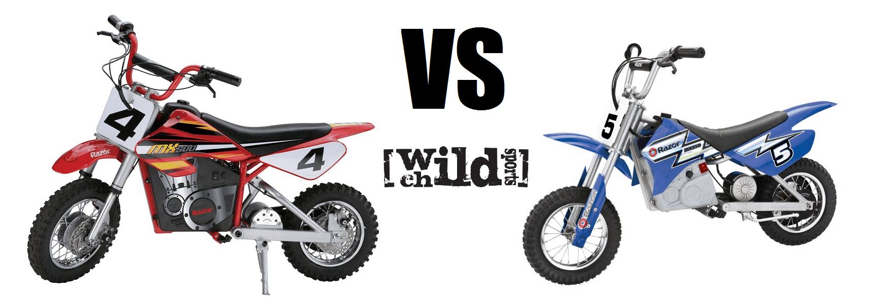 Razor MX350 VS MX500