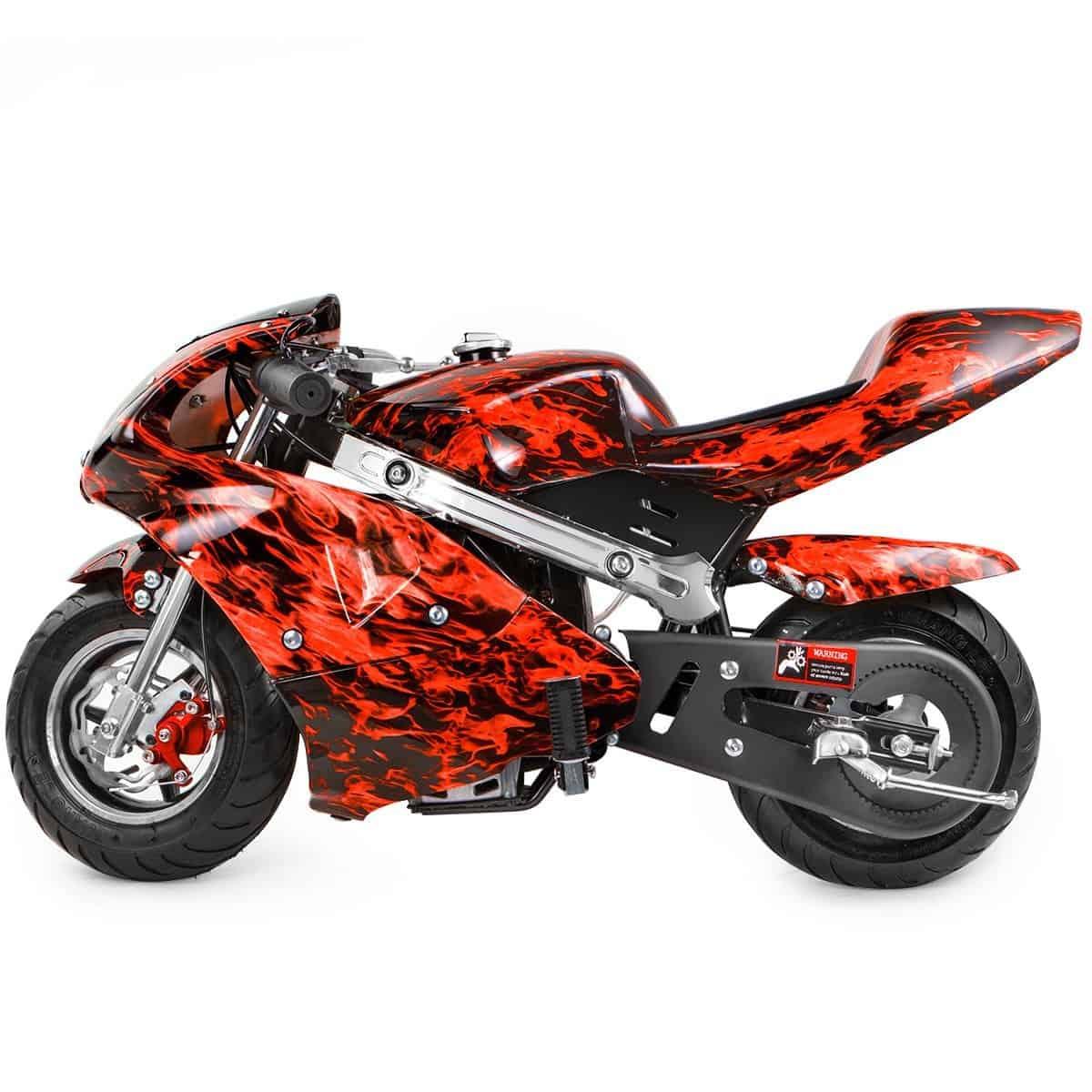 Gas Powered Pocket Rocket Motorcycle