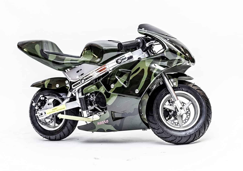 Kids Gas Powered Pocket Bike – Rosso Motors F1 Racer