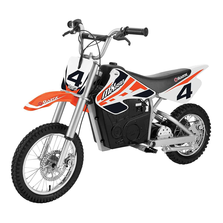 Orange Razor Dirt Rocket MX650