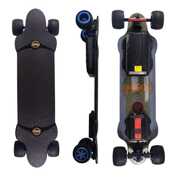 All Terrain Electric Skateboard – TeamGee H20T