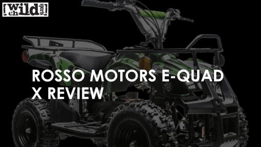 Kids Electric Quad - Rosso Motors eQuad X Review