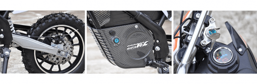 Kids Electric Dirt Bike - MotoTec 24V Electric Dirt Bike