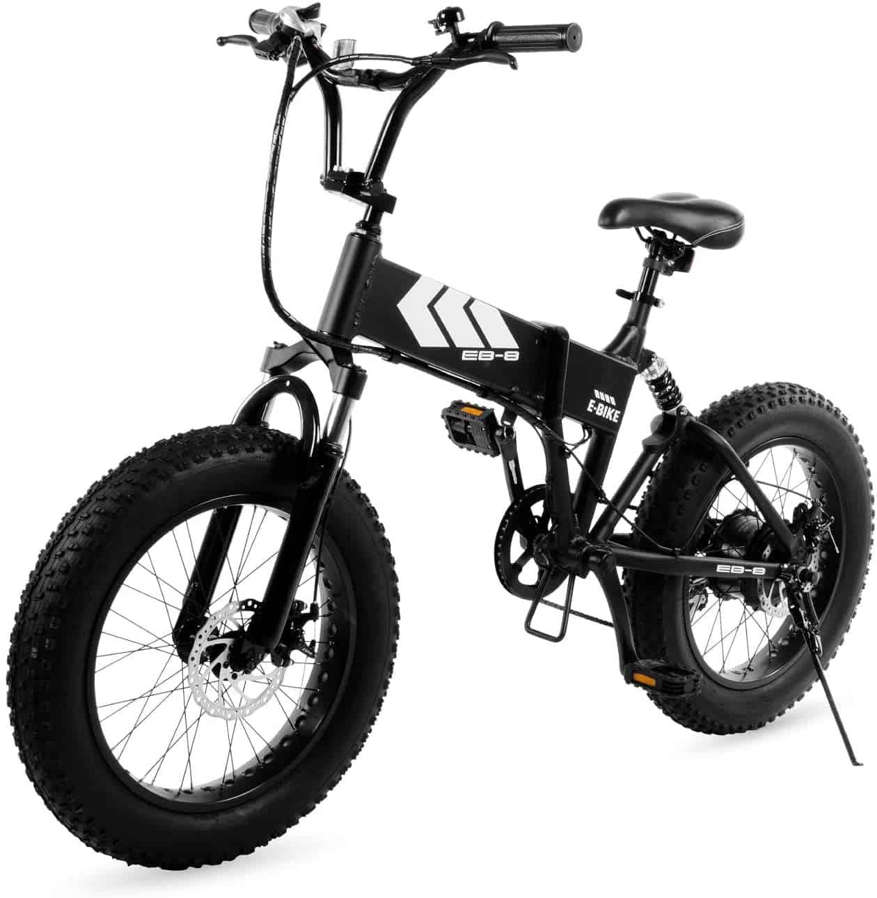 Swagtron Electric Bike – Fat Tire EB-8 Outlaw