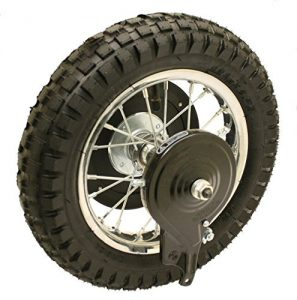 Razor Dirt Bike Parts - Rear Wheel Assembly