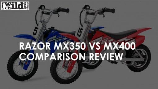 Razor MX350 VS MX400 Comparison Review