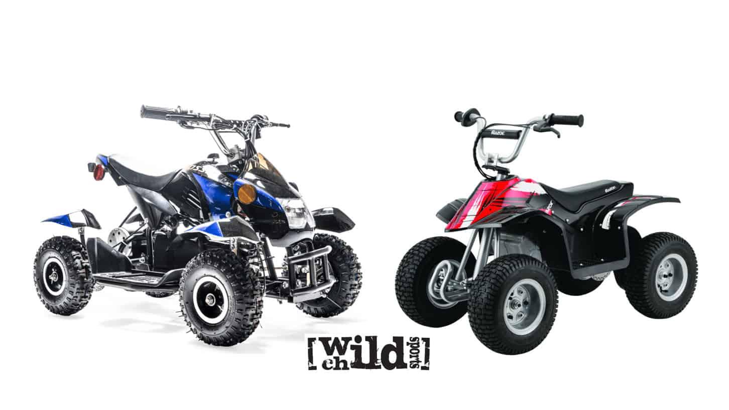 Rosso Motors eQuad VS Razor Dirt Quad