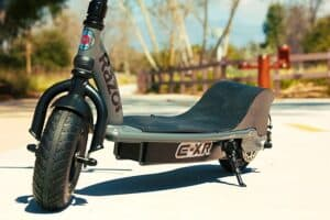 Razor EXR electric scooter - deck and wheels