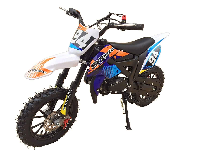 Kids Mini Dirt Bike – SYX Moto Holeshot 50cc