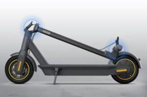 Best Electric Scooter for Long Commutes_Ninebot KickScooter Max