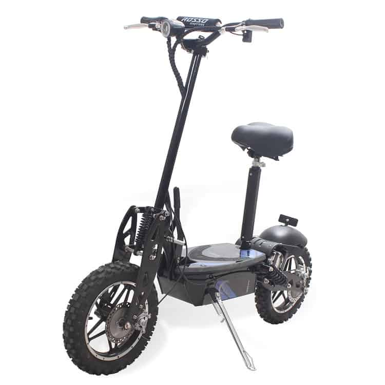 Kids Seated Electric Scooter – Rosso Motors Cobra
