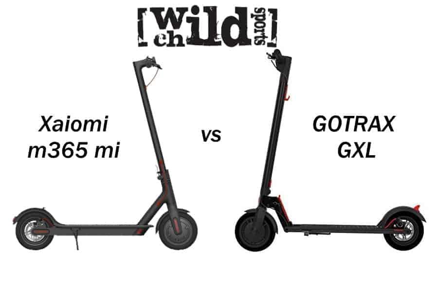 GOTRAX GXL vs Xiaomi m365 mi