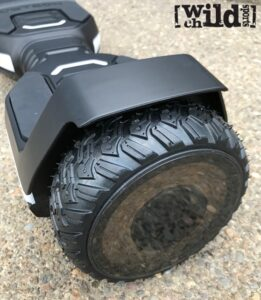 Kids All Terrain Hoverboard - Jetson Flash - Side View_Tire
