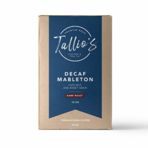 Coffee Roaster Dark Roast Decaf Mableton
