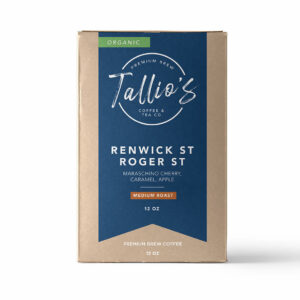 Coffee Roaster Medium Roast Renwick St Roger St Organic