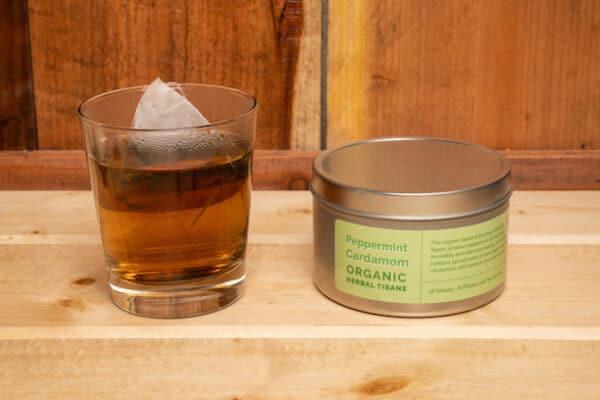 Peppermint Cardamom Tea