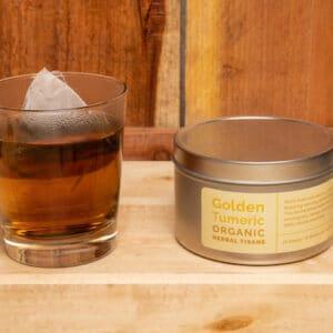 Golden Turmeric Organic Herbal Tisane