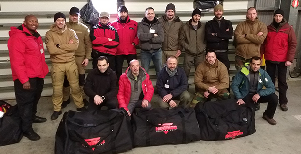 RedMan Training and Safety Course in Belgium