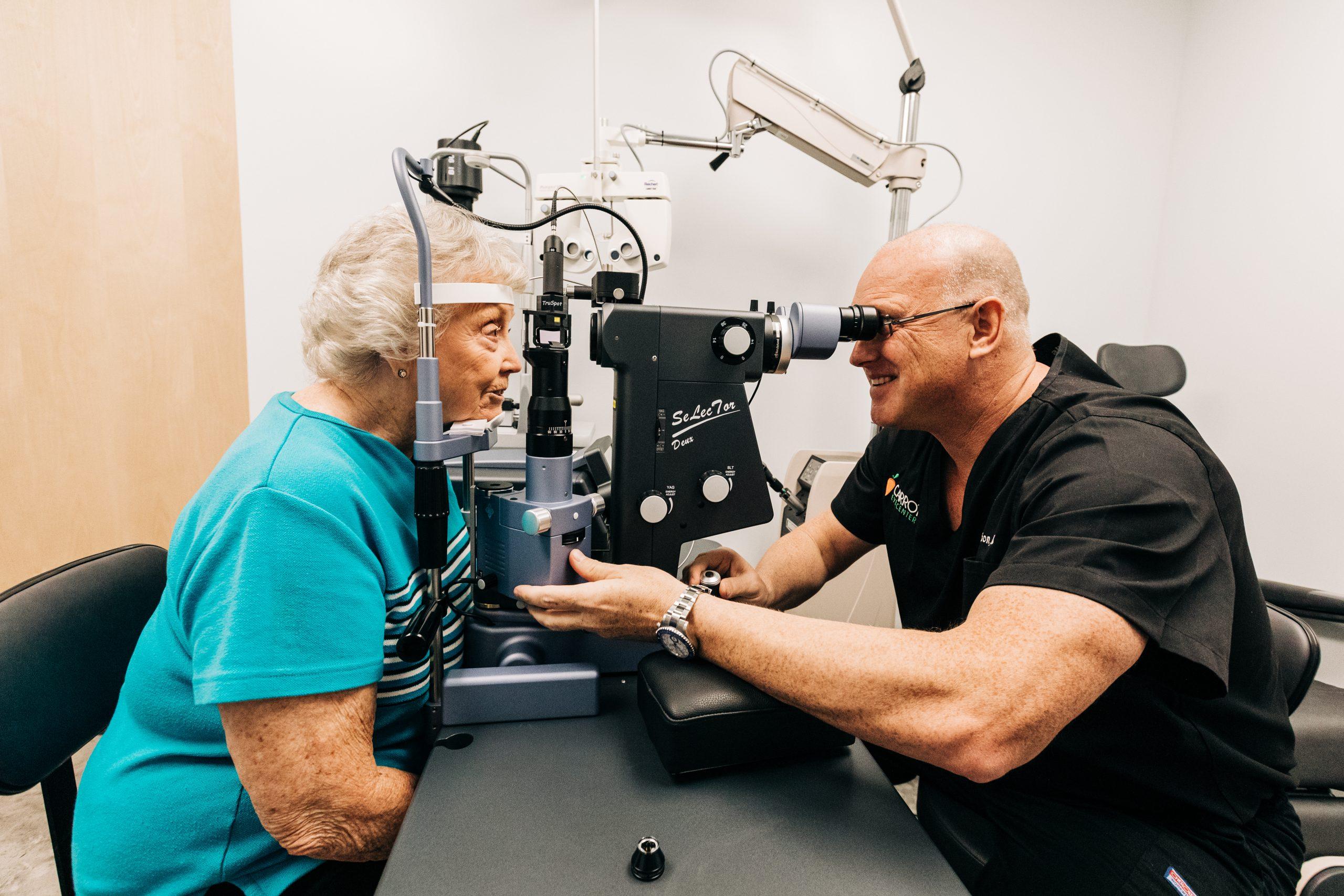 Eye Exam at Carrot Eye Center
