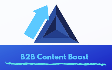 B2B Content Boost Marketing