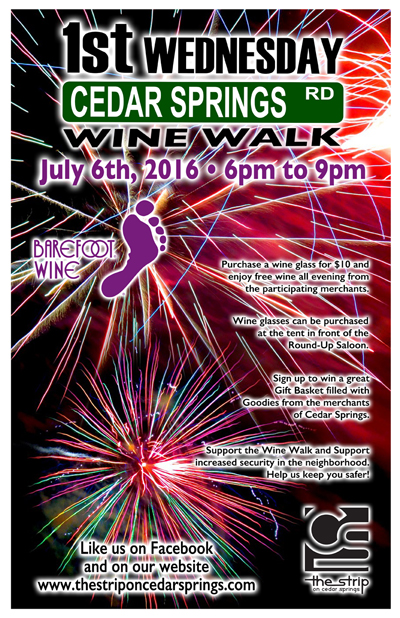 July 2016 Wine Walk