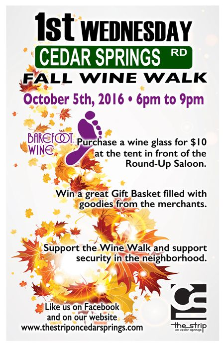 Wine Walk - October 2016