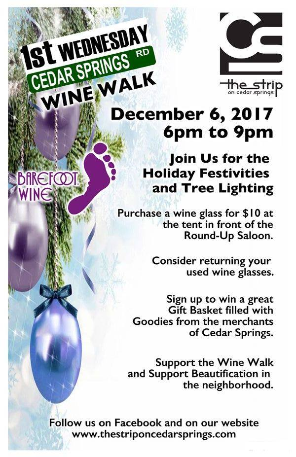 Wine Walk - Wed., Dec. 6
