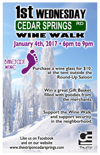 Wine Walk - January 2017