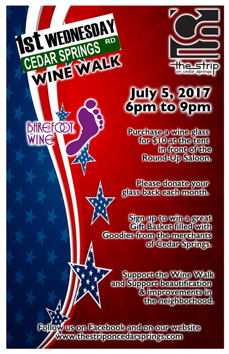 July 2017 Wine Walk