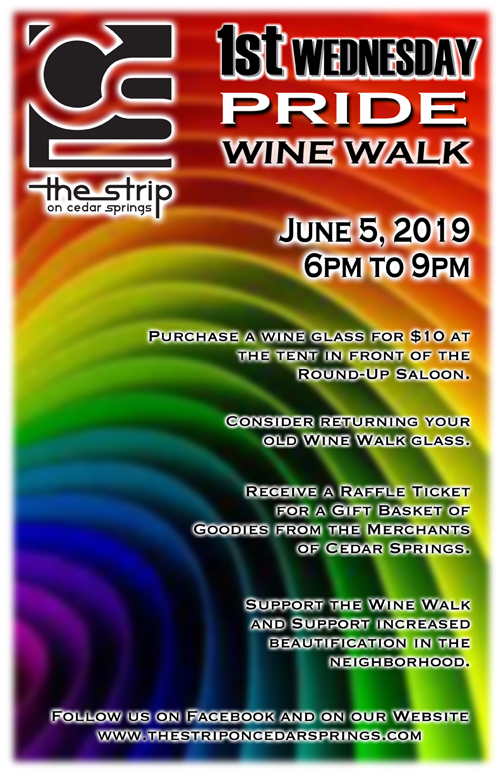 Wine Walk - June 2019 @ Round Up Saloon | Dallas | Texas | United States