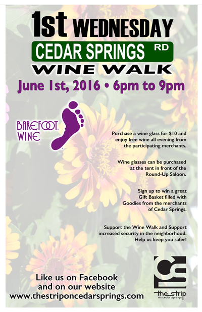 Wine Walk - June 1, 2016