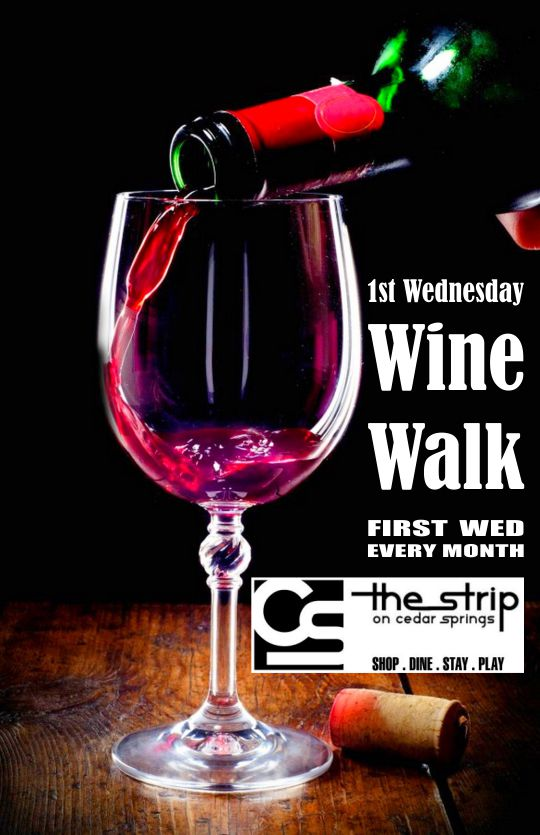 Wine Walk - August 2019 @ Round Up Saloon | Dallas | Texas | United States