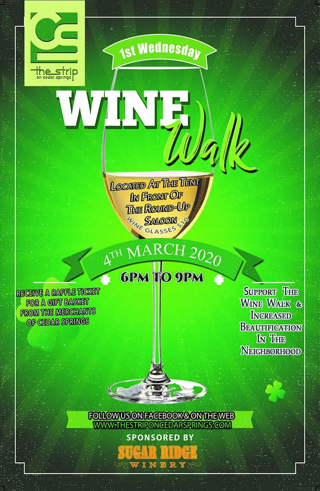 Wine Walk March 2020