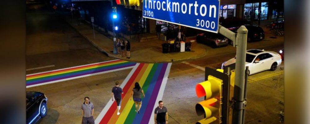 City of Dallas approves Rainbow Crosswalk project