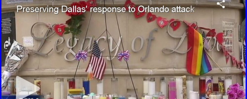Wondering what happened to the Orlando Tributes at Legacy of Hope?
