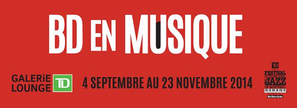 Exposition «BD en musique»