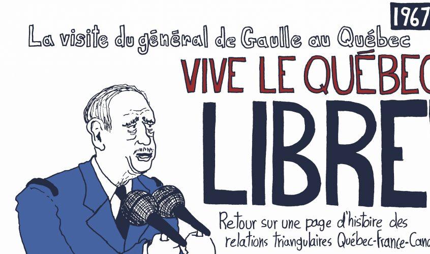 «Vive le Québec libre!» par Martin PM