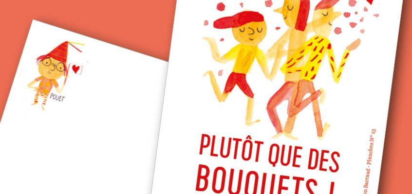 Télécharge une carte d'amour (de la BD) pour la Saint Valentin !